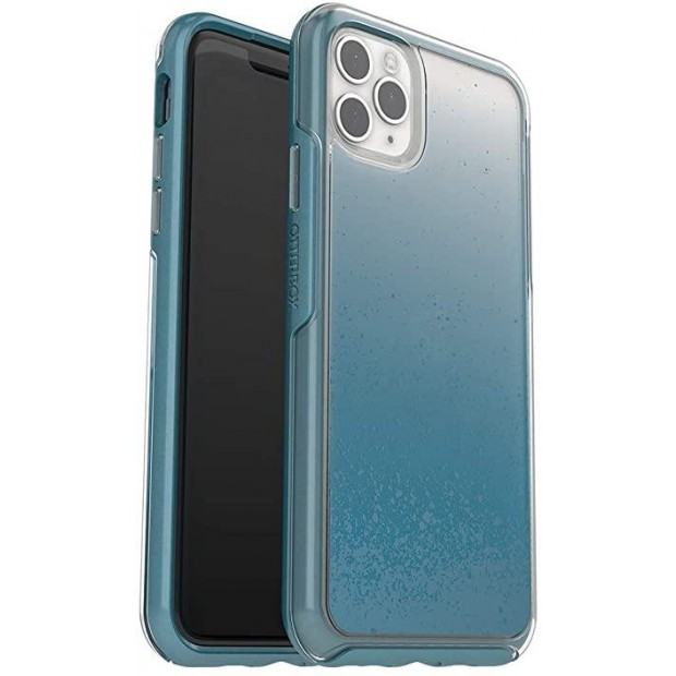 OtterBox Symmetry Clear Apple iPhone 11 Pro Max We'll Call Blue - clear/blue