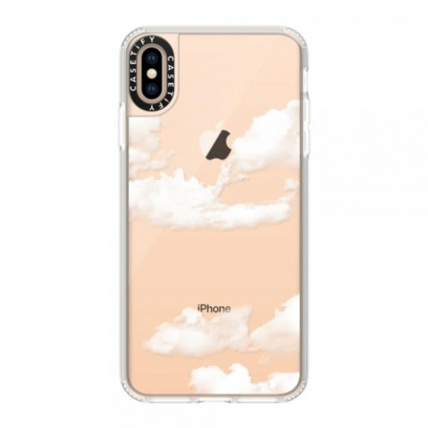 Casetify Clouds iPhone Xs Max Frost Grip Case