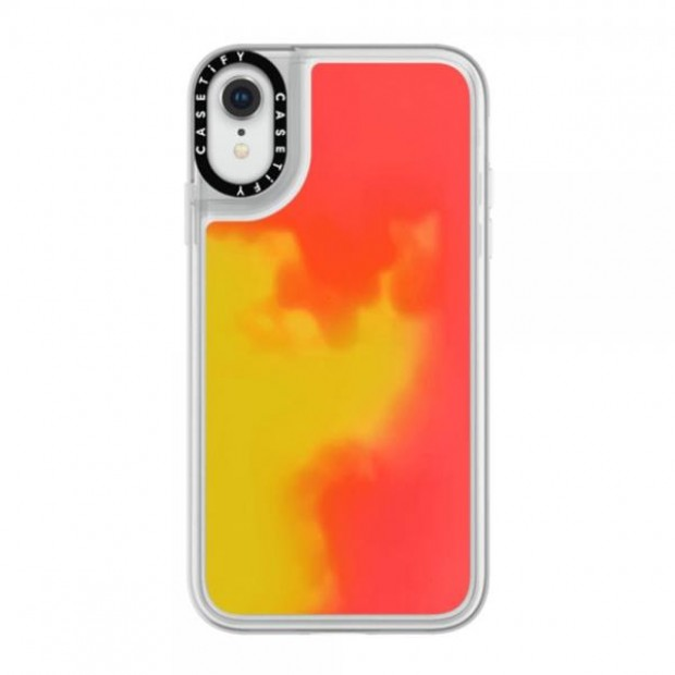 Casetify Neon Case Flame iPhone Xr