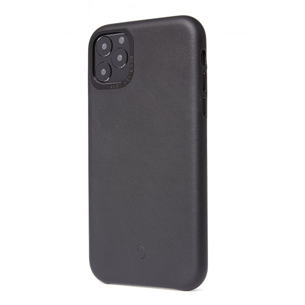 Decoded Leather Backcover iPhone 11 Pro Black