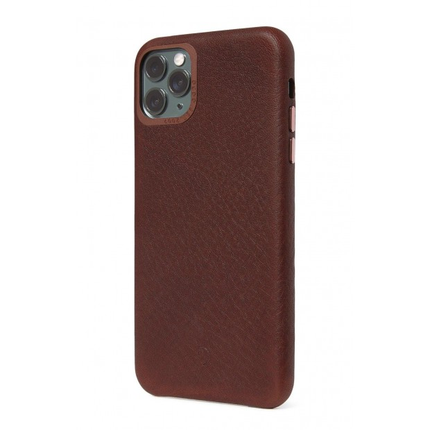 Decoded Leather Backcover iPhone 11 Pro Brown