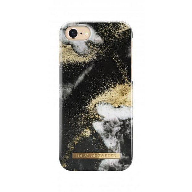 Fashion Case iPhone 8/7/6/6S Black Galaxy