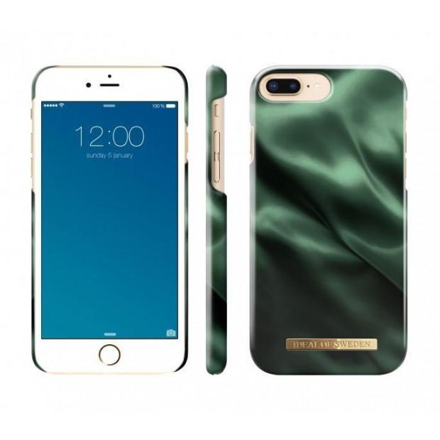 Fashion Case iPhone iPhone8/7/6/6S Plus Emerald Satin
