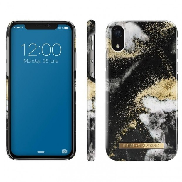 Fashion Case iPhone XR Black Galaxy