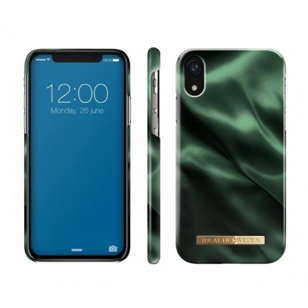 Fashion Case iPhone XR Emerald Satin