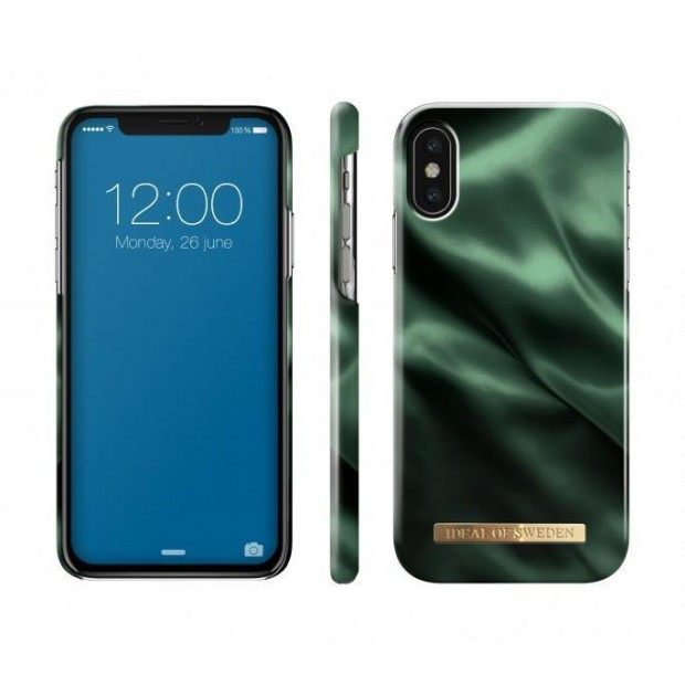 Fashion Case iPhone X/XS Emerald Satin