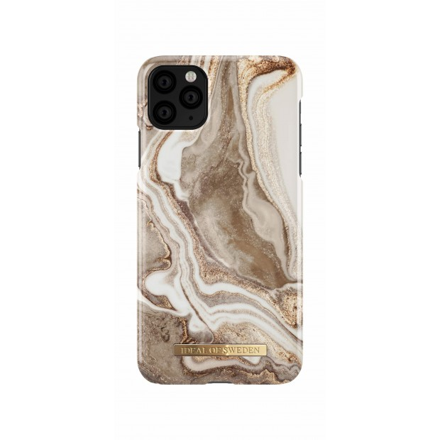 iDeal of Sweden Fashion Case iPhone 11 Pro Max Golden Sand Marble