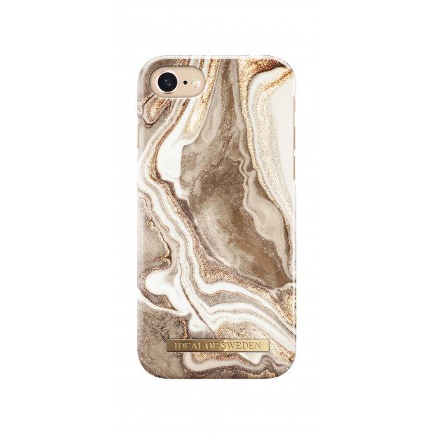 iDeal of Sweden Fashion Case iPhone 8/7/6/6s Golden Sand Marble
