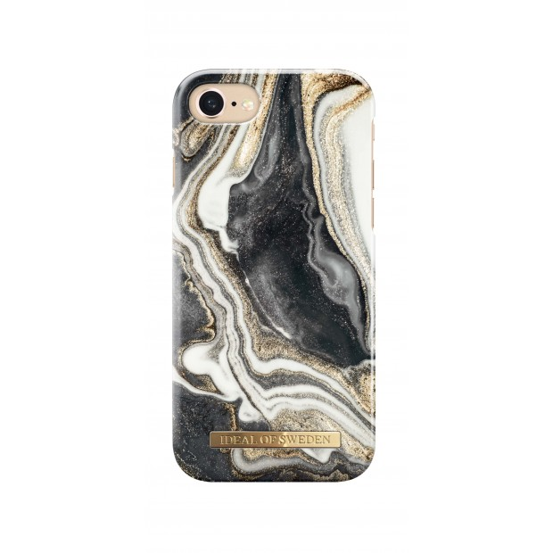 iDeal of Sweden Fashion Case iPhone 8/7/6/6s Golden Ash Marble