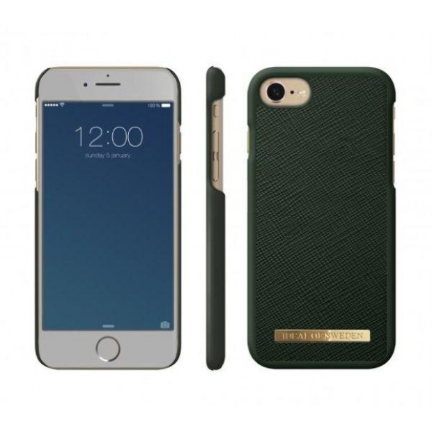 Fashion Case Saffiano iPhone iPhone 8/7/6/6S Green