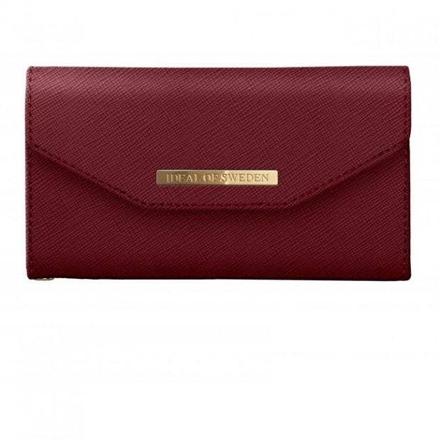 Mayfair Clutch iPhone XR Burgundy Burgundy