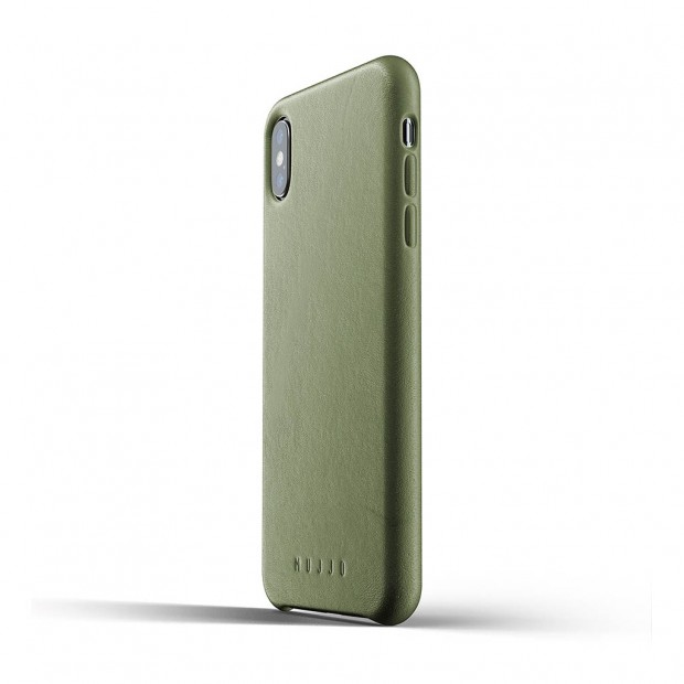 "Mujjo Full Leather Case iP 6.5"", Olive"