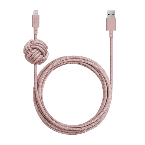 Native Union Night Cable Lightning - ROSE