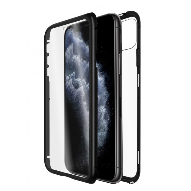 QDOS Optiguard Infinity Glass Black iPhone 11 Pro