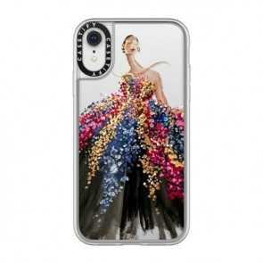 Casetify Blooming Gown iPhone Xr Frost Grip Case