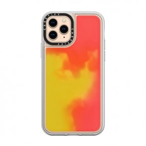 Casetify Neon sand Case Flame iPhone 11 Pro