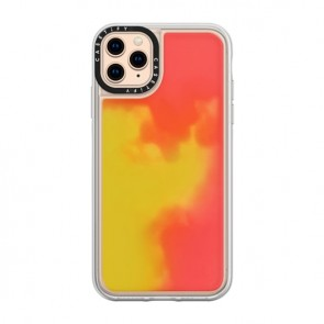 Casetify Neon sand Case Flame iPhone 11 Pro Max
