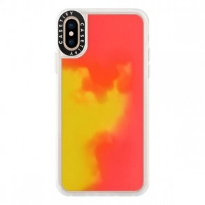 Casetify Neon Case Flame iPhone X/Xs