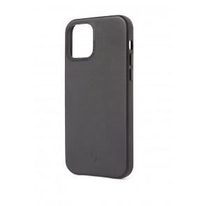 Leather Backcover iPhone 12 Mini (5.4 inch) Black