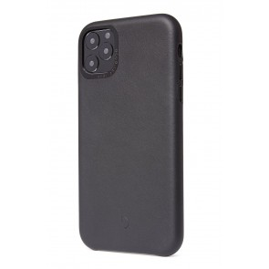 Decoded Leather Backcover iPhone 11 Pro Max Black