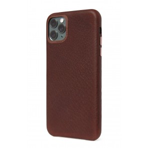 Decoded Leather BackCover iPhone 11 Pro Max Brown