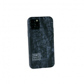 Wilma Climate Change Case for iPhone 12 mini, Coal