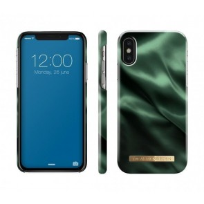 Fashion Case iPhone X/XS Emerald Satin