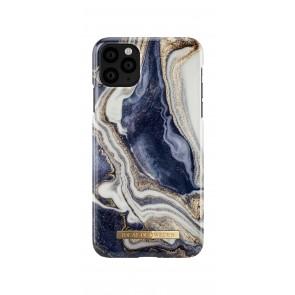 iDeal of Sweden Fashion Case iPhone 11 Pro Max Golden Indigo Marble