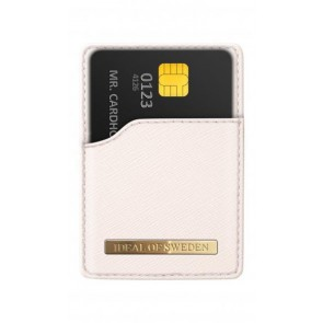 iDeal of Sweden Magnetic Card Holder Saffiano Beige