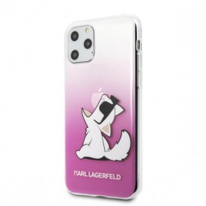 Karl Lagerfeld iPhone 11 Pro - Choupette Fun Sunglasses Pink - TPU case