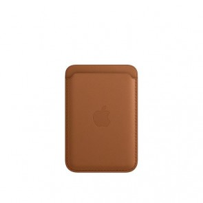 Apple iPhone Leather Wallet w/MagSafe Saddle Brown