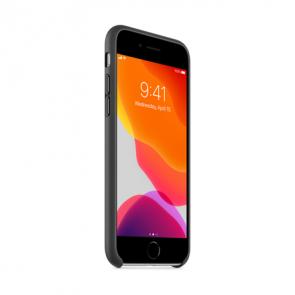 Apple iPhoneSE 2020 Leather Case Black