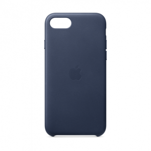 Apple iPhoneSE 2020 Leather Case Midnight Blue