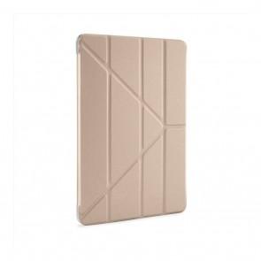 """Pipetto iPad Pro 11"""" Origami Case (2018) - Gold & Clear"""