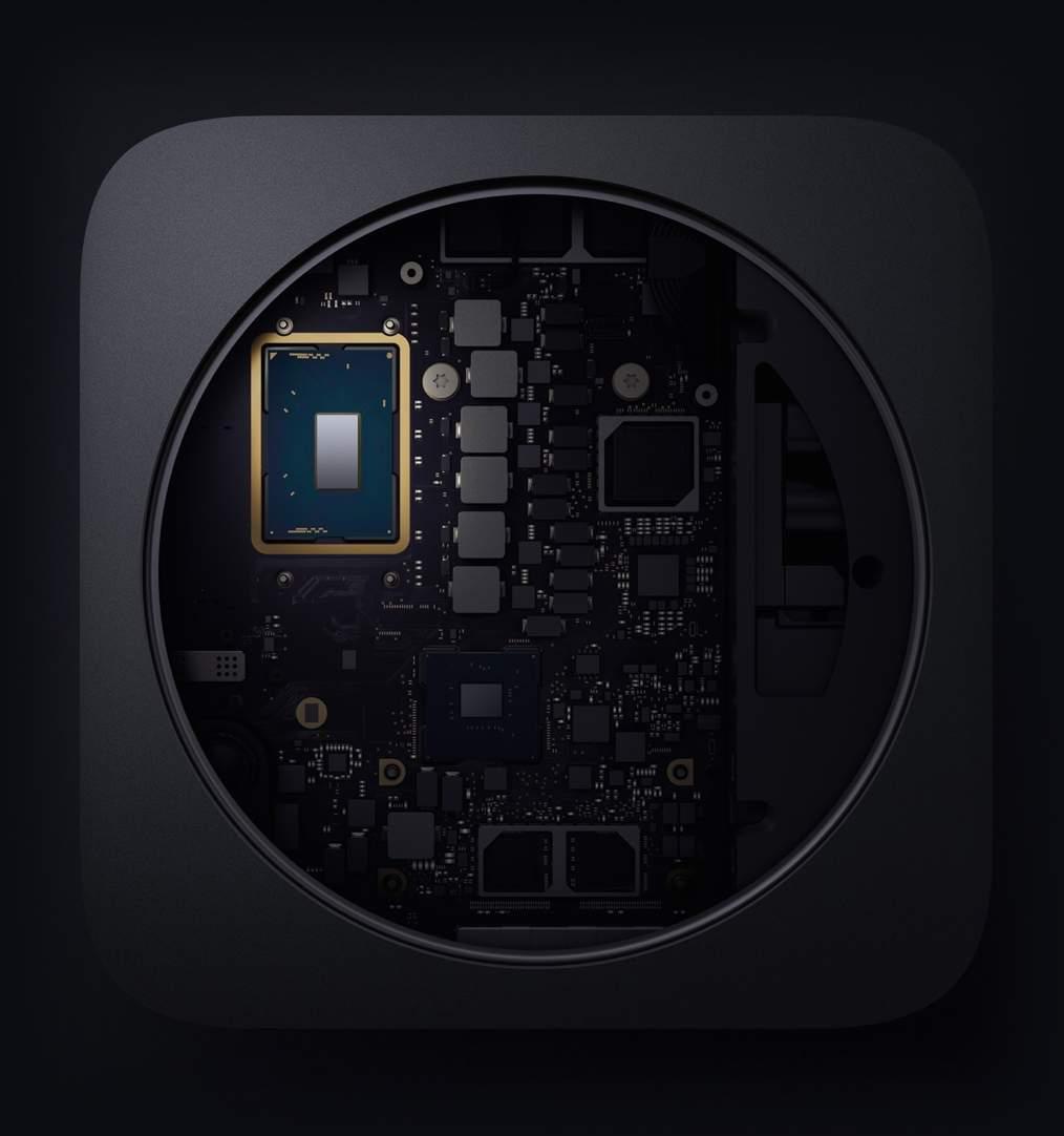 Mac mini prosessori