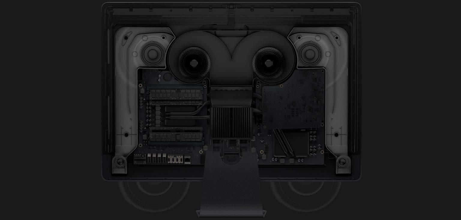iMac Pro audio