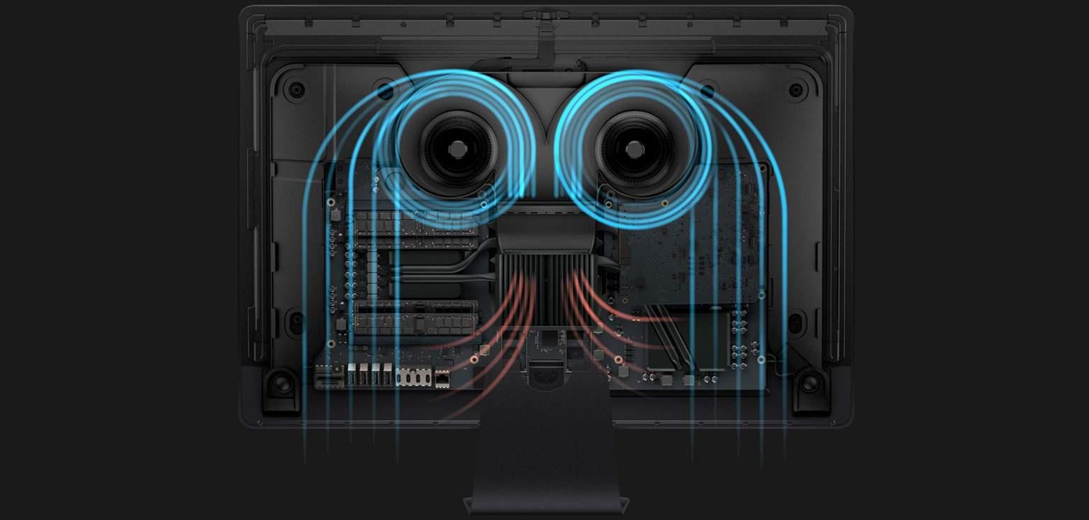 iMac Pro cooling