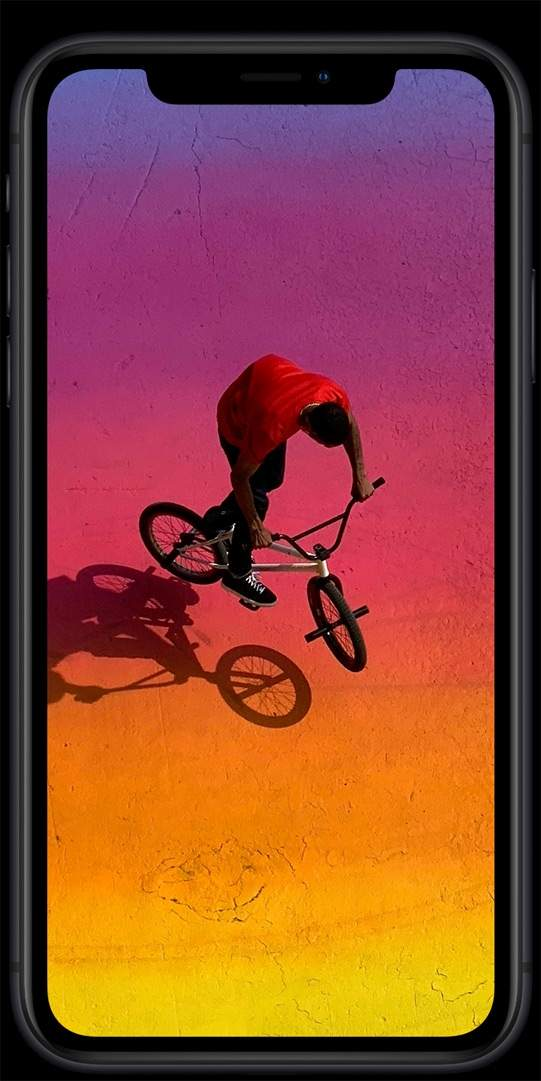 iPhone XR screen